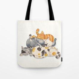 Cat Nap (Siesta Time) Tote Bag