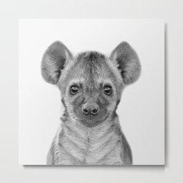 Baby Hyena Metal Print