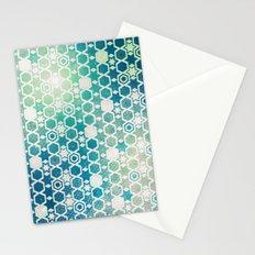 Stars Pattern #003 Stationery Cards