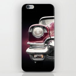 US American classic car 1956 Series 62 Deville front iPhone Skin