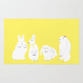 cute bunnies Rug