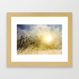 New Day Yesterday Framed Art Print