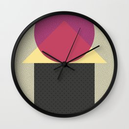 Cirkel is my friend V2 Wall Clock