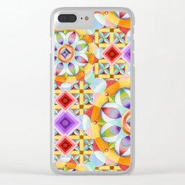 Avalon Mandala Clear iPhone Case