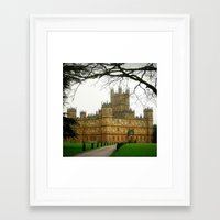 downton abbey Framed Art Prints featuring Downton Abbey Licious  by seardig