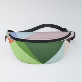 Abstract Geometric Art Colorful Design 6 Fanny Pack