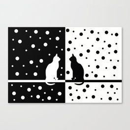 Black and White 82 Canvas Print