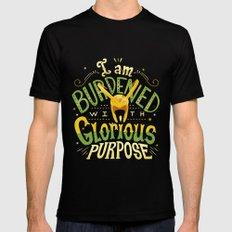 Glorious Purpose Black Mens Fitted Tee MEDIUM