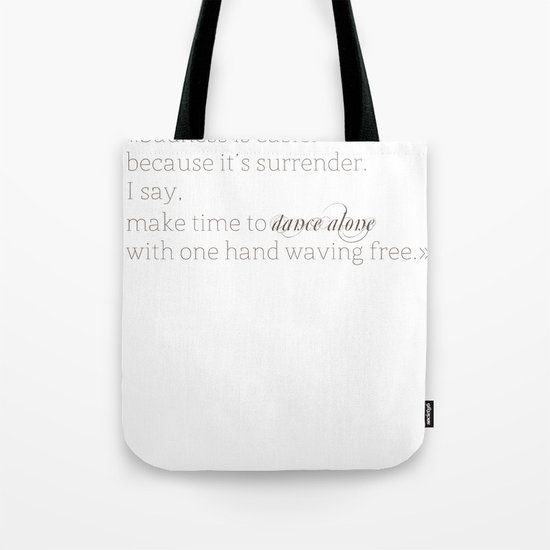 Elizabethtown Quote Tote Bag