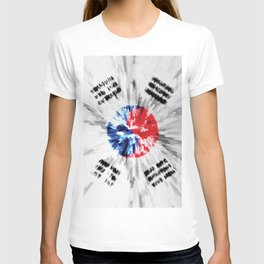 Extruded flag of South Korea T-shirt