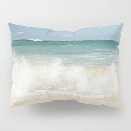 beach love shoreline serenity Pillow Sham