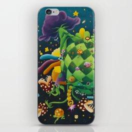 Pixel world iPhone Skin