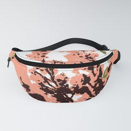 Dots and flowers Fanny Pack