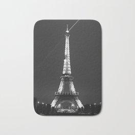 Eiffel Tower with spotlights Bath Mat