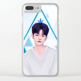 Ong Seong Wu Clear iPhone Case