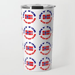 motto of norway 2 -alt for norge Travel Mug