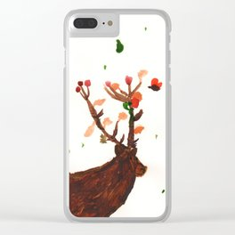 Wisdom of the Horned God Clear iPhone Case