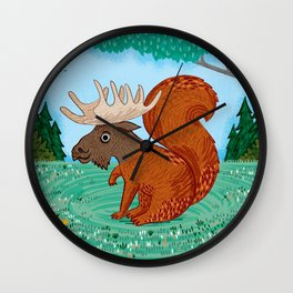 The Squoose Wall Clock
