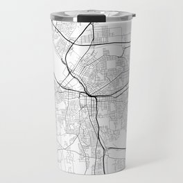 Minimal City Maps - Map Of Syracuse, New York, United States Travel Mug