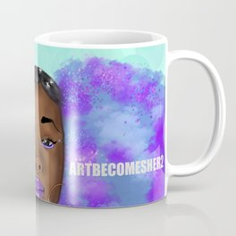 Cosmic Afro Puffs Coffee Mug