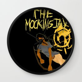 The mockingjay lives Wall Clock