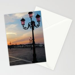 Venice at Dawn 2 Stationery Cards