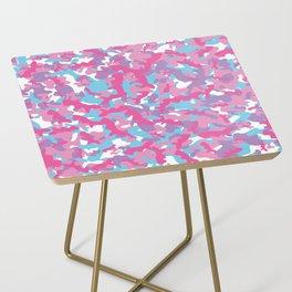 Unicorn's Breakfast [Camo Pattern] Side Table