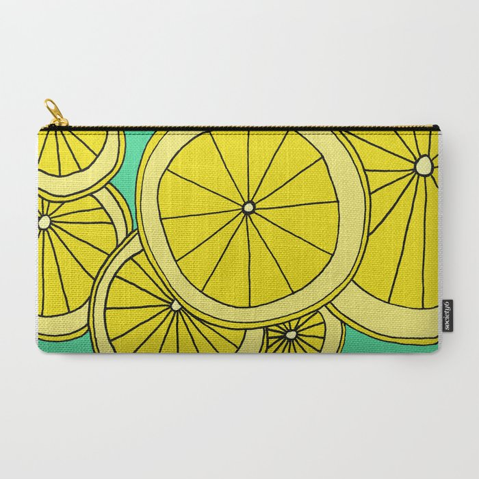 Lemons by Emma Freeman Designs Carry-All Pouch