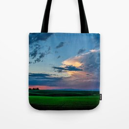 Montana Sunset Tote Bag