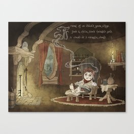 A Merrier World Canvas Print