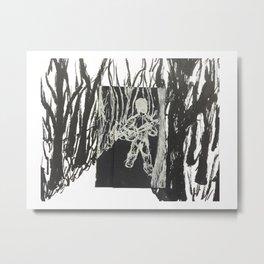 Banjo Walk Metal Print