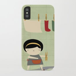 Busy iPhone Case