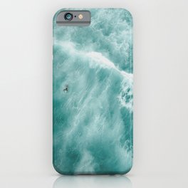Surfer Surfing Bondi Beach iPhone Case