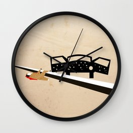 Santino Ambushed Wall Clock