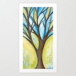 Spreading my branches Art Print