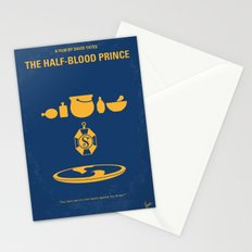 No101-6 My HP - HALF BLOOD PRINCE movie poster Stationery Cards