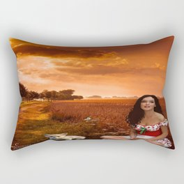 There's No Place Like Home.. (Portrait) Rectangular Pillow