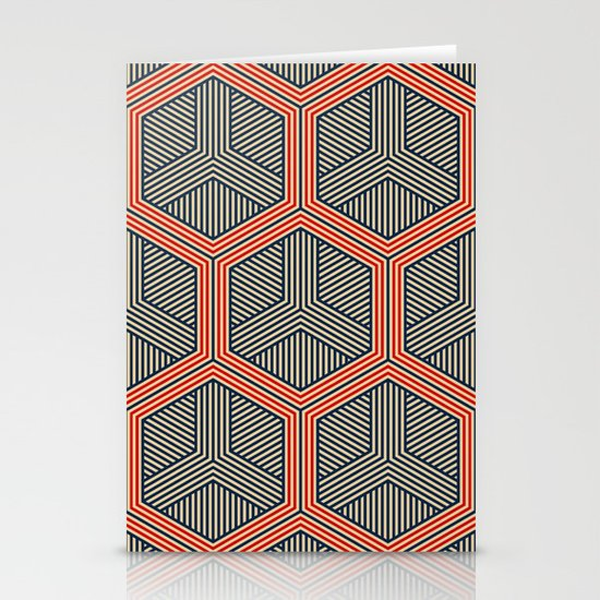 Hexagon No. 1 Stationery Cards