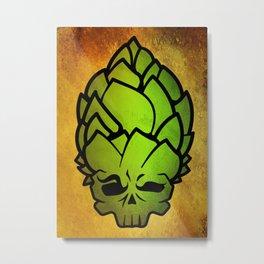 Hop Head Metal Print