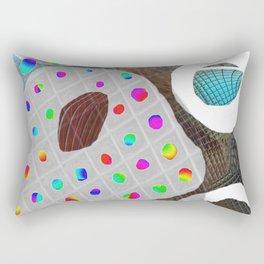 Rainbow Pallet Rectangular Pillow