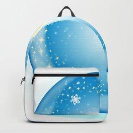 Christmas Star Globe Backpack