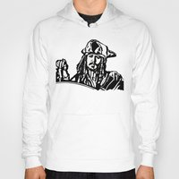 jack sparrow Hoodies featuring Jack Sparrow....Captain Jack Sparrow.. by Rachcox