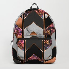 Chevron Peacock Backpack