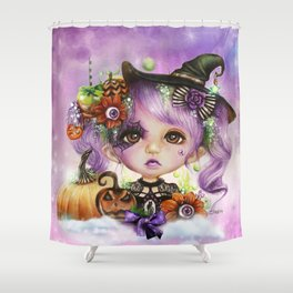 HALLOWEEN HANNAH Shower Curtain