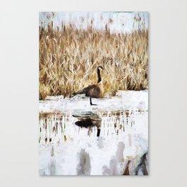 The Lone Traveler Canvas Print