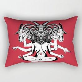 Woman is a Devil Rectangular Pillow