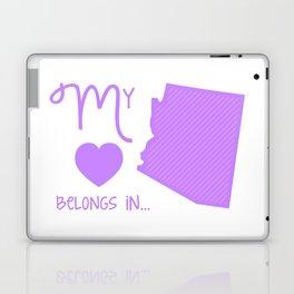 My Heart Belongs in Arizona Laptop & iPad Skin