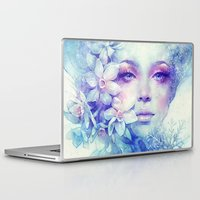 friday Laptop & iPad Skins featuring December by Anna Dittmann