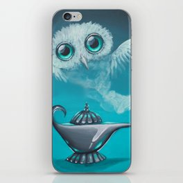genie owl iPhone Skin