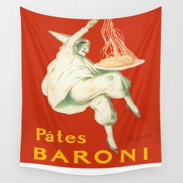 Vintage poster - Pates Baroni Wall Tapestry